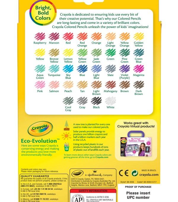 crayola color pencils # 20