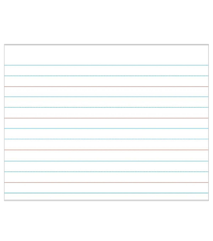 Carson Dellosa Write On Wipe Off Handwriting Paper Chart