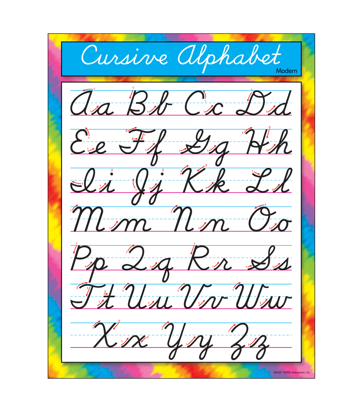 Printables Of Curcive Alphabet