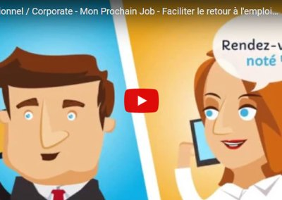 Institutionnel / Corporate – Mon Prochain Job – Faciliter le retour à l'emploi en Alsace
