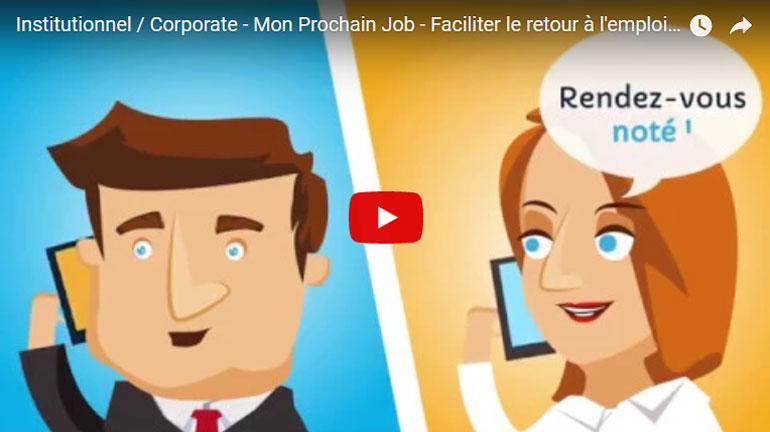 Institutionnel / Corporate – Mon Prochain Job – Faciliter le retour à l'emploi en Alsace