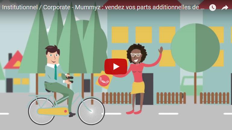 Institutionnel / Corporate – Mummyz : vendez vos parts additionnelles de plats cuisinés !