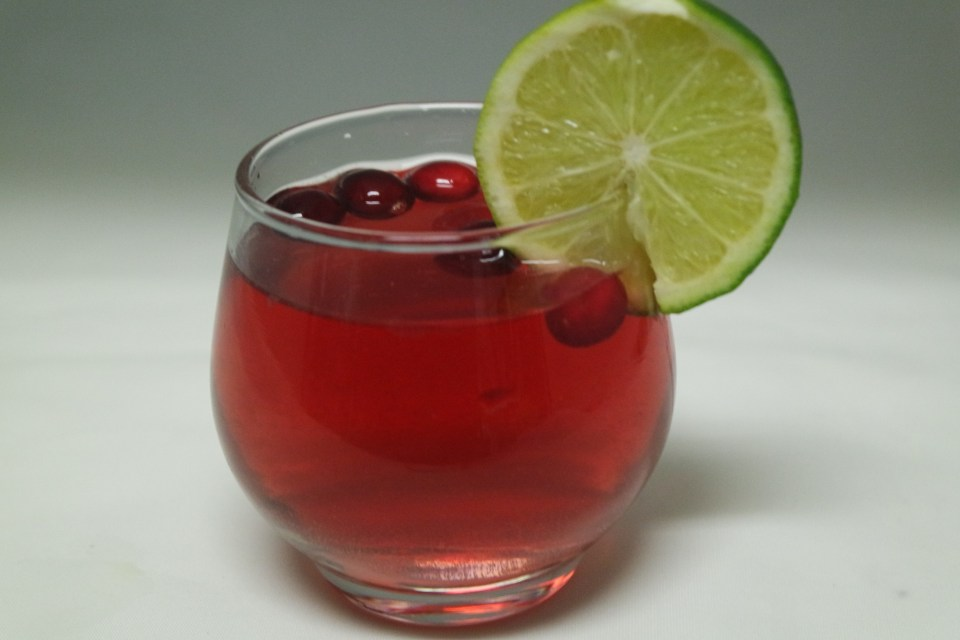 Cranberry & Lime Spritzer