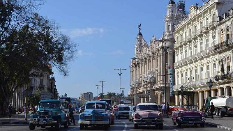 Transportation Options in Havana, Cuba