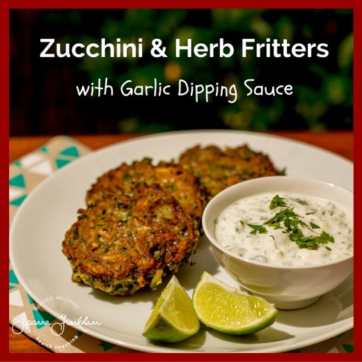 Zucchini & Herb Fritter