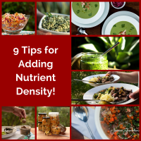 9 Tips for Adding Nutrient Density