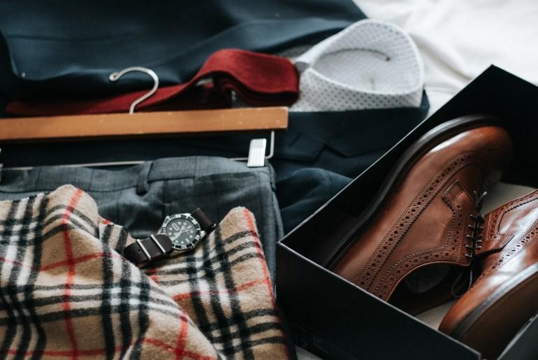 men's wardrobe