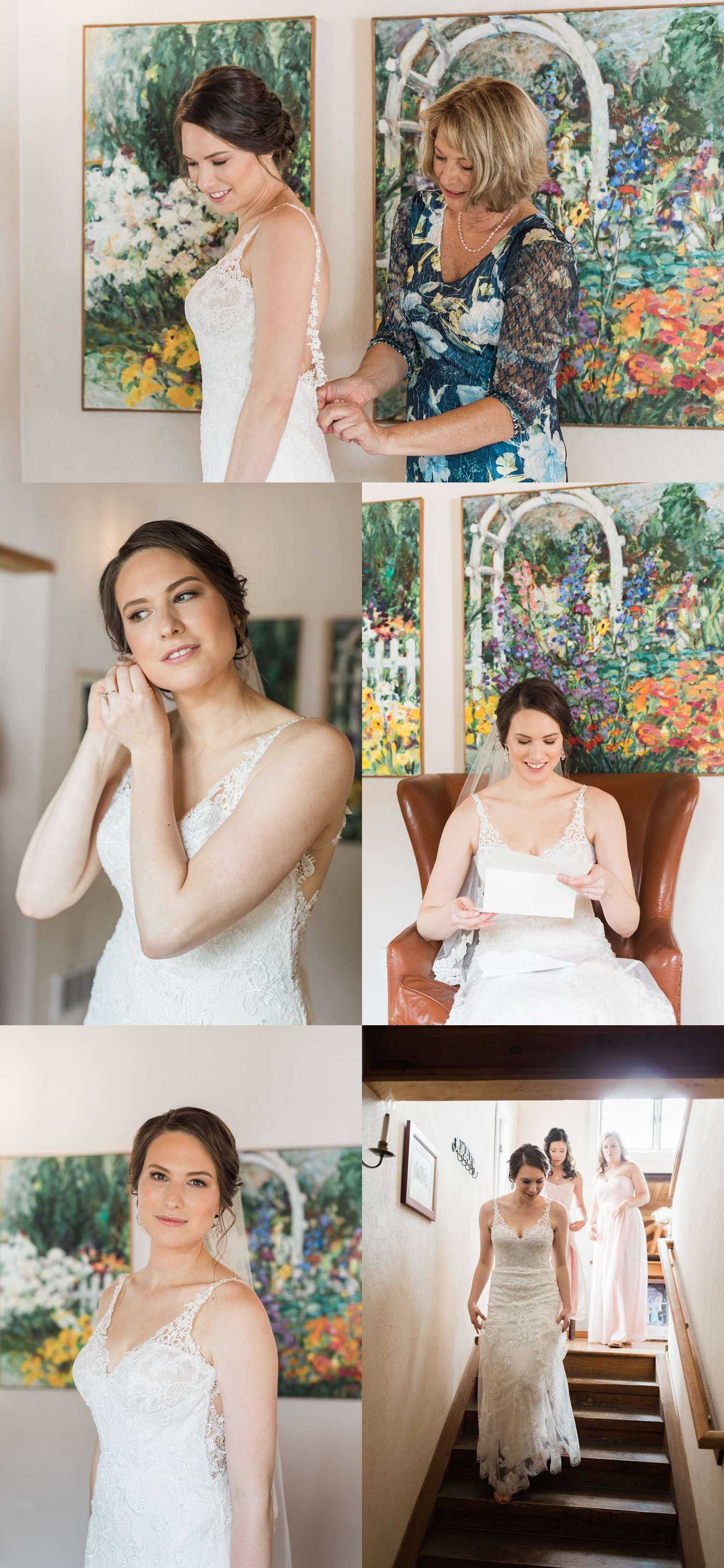 A bride gets ready for her wedding at Chateau Lill in Woodinville, a wedding venue near Seattle, WA. | Joanna Monger Photography | Seattle & Snohomish Photographer