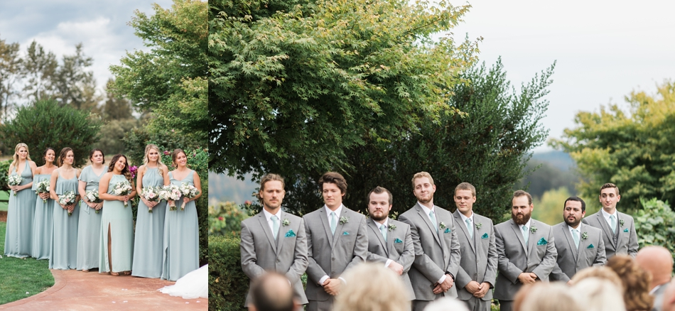 Photo of groomsmen at a Hidden Meadows Farms wedding in Snohomish, a rustic yet elegant wedding venue near Seattle. | Joanna Monger Photography