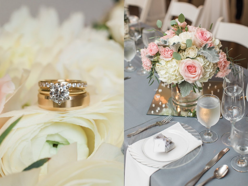 Photo of wedding details and ring at an intimate wedding at Belle Chapel in Snohomish, a wedding venue near Seattle. | Joanna Monger Photography | Snohomish & Seattle Photographer