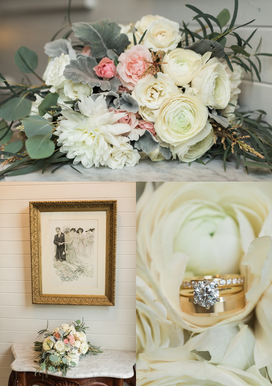 Photo of wedding details at an intimate wedding at Belle Chapel in Snohomish, a wedding venue near Seattle. | Joanna Monger Photography | Snohomish & Seattle Photographer