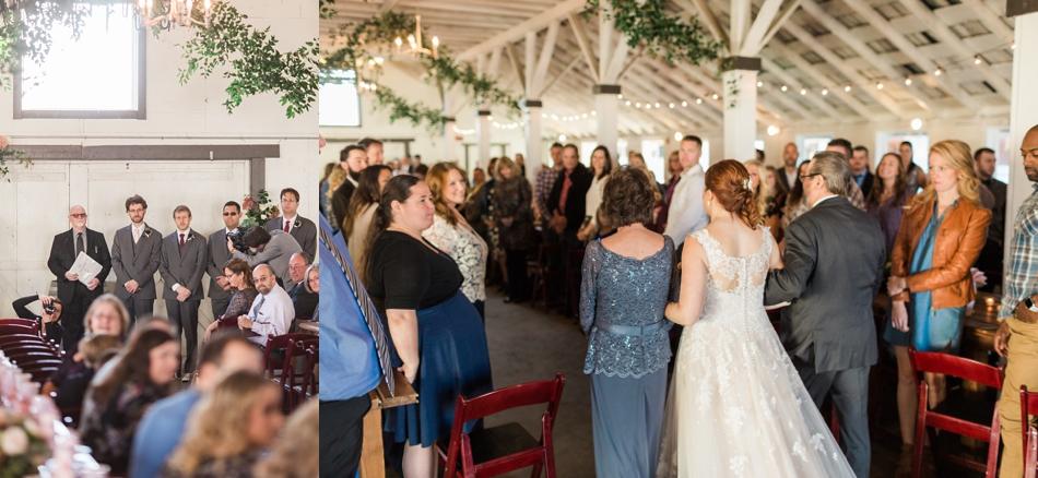 Photo of wedding guests at Snohomish Wedding Venue Dairyland Barn near Seattle | Joanna Monger Photography