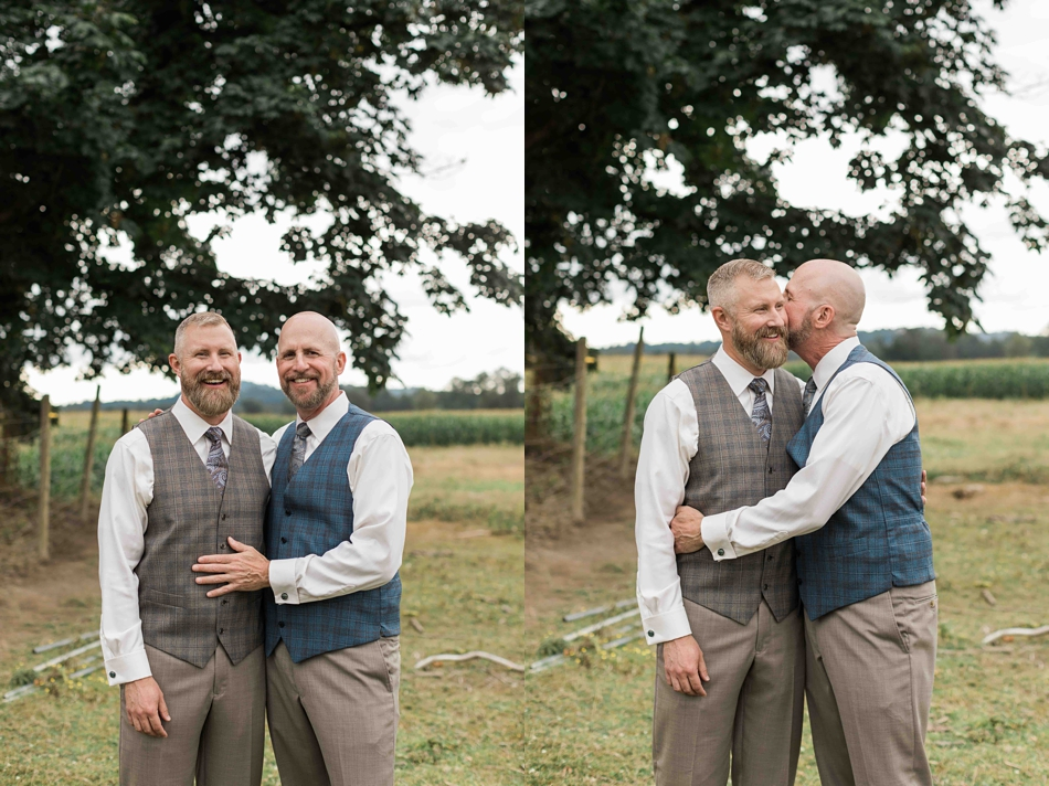 A joyous occasion at Falling Water Gardens in Monroe. Photographs by Joanna Monger Photography, Snohomish's Best Wedding Photographer.