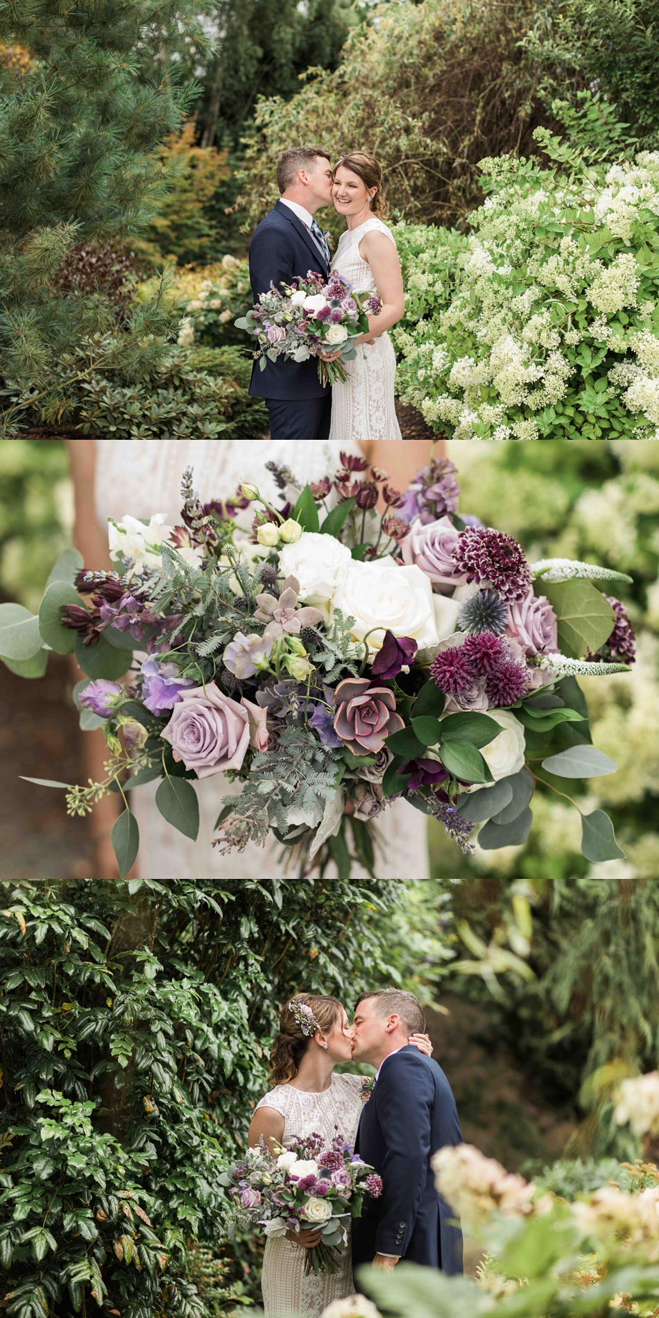 A beautiful flower arrangement at Pine Creek Nursery in Monroe. Photos by Joanna Monger Photography, Snohomish and Seattle Wedding Photographer.