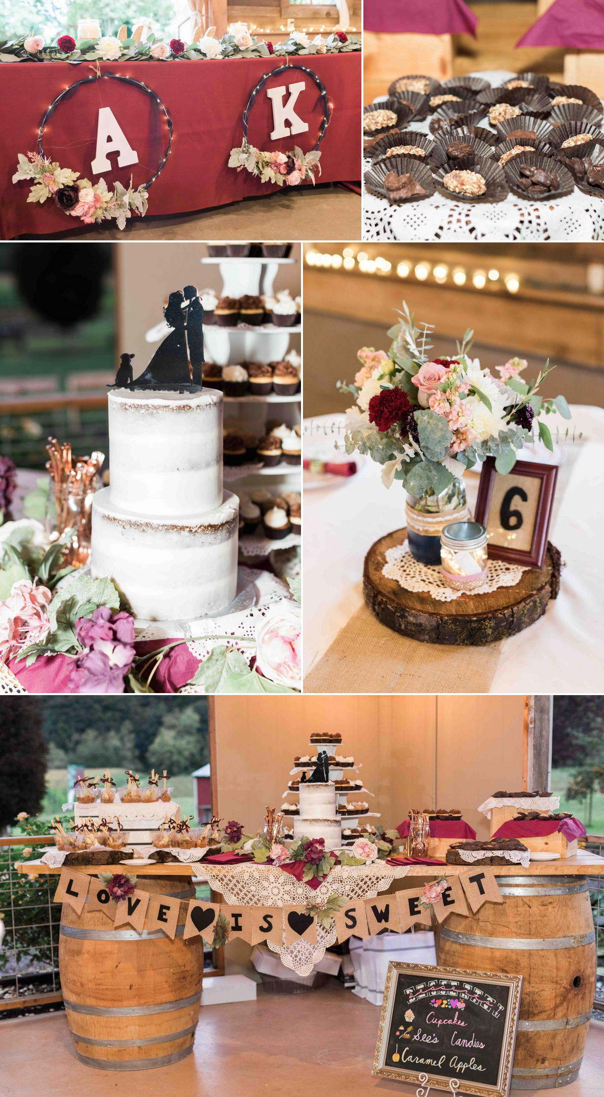 Wedding cake at Craven Farms in Snohomish. Photos by Joanna Monger Photography, Snohomish and Woodinville Wedding Photographer.