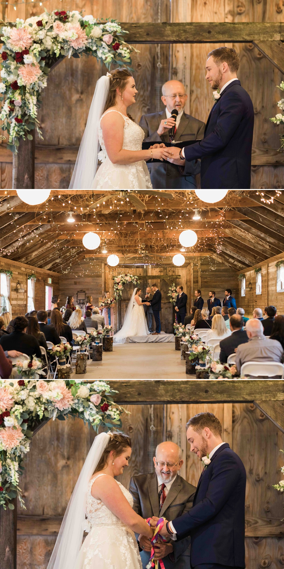 Wonderful ceremony at Craven Farms in Snohomish. Photos by Joanna Monger Photography, Snohomish and Seattle Wedding Photographer.