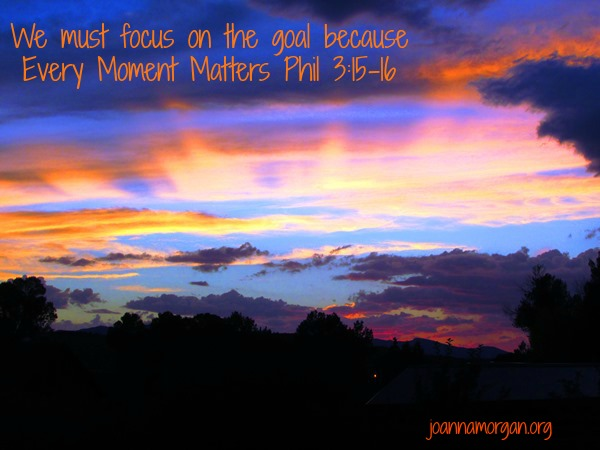 Every Moment Matters by Joanna Morgan 11-8-13 Blog
