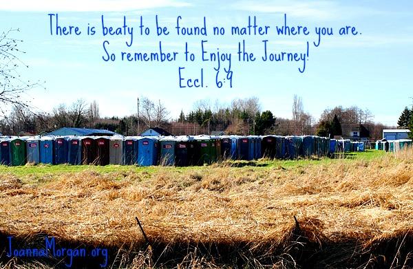 Enjoy the Journey by Joanna Morgan 12-2-13 Blog