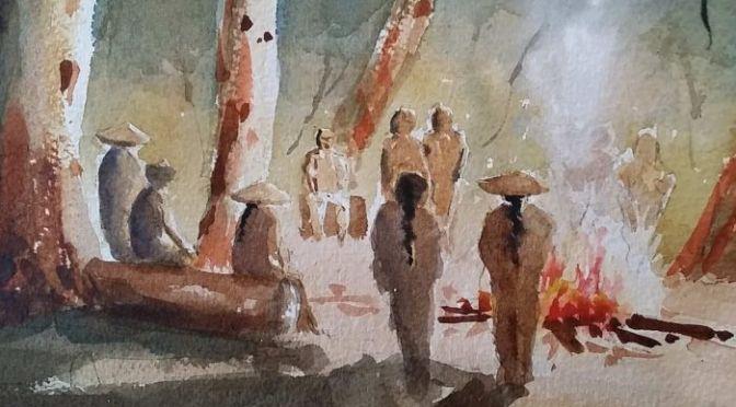 Racism, bandit attacks, bravery: Art celebrates Australia's Chinese history