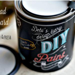 Bead Board DIY paint