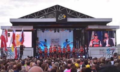 Greg Van Avermaet nos parece uno de los corredores más destacados de la salida de este Tour con serias opciones de ganar una etapa y porqué no, ser amarillo