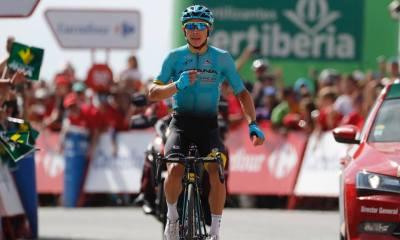 Miguel Angel López gana en Sierra Nevada durante la Vuelta a España