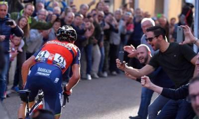 Monumentos ciclistas, Nibali ganando en Lombardía