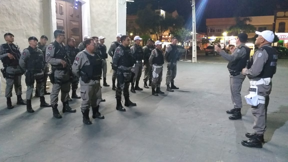 POLICIAIS MILITARES INTENSIFICAM AÇÕES NA ÁREA SE POMBAL