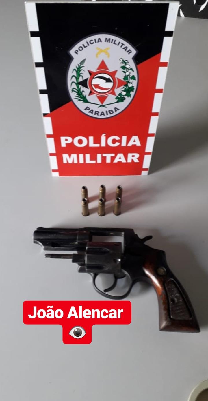 POLÍCIA MILITAR APREENDE MAIS UMA ARMA DE FOGO EM SÃO BENTO