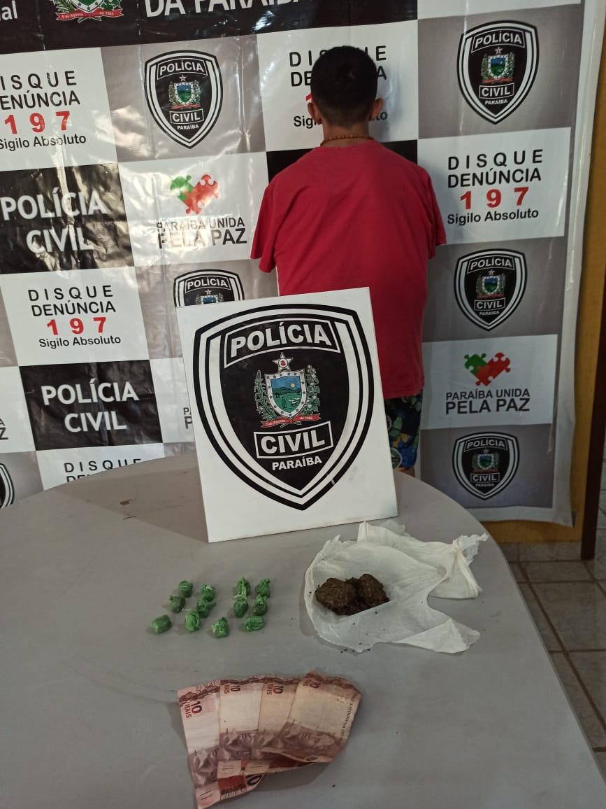 Polícia Civil prende investigado por homicídio na cidade de Catolé do Rocha – PB