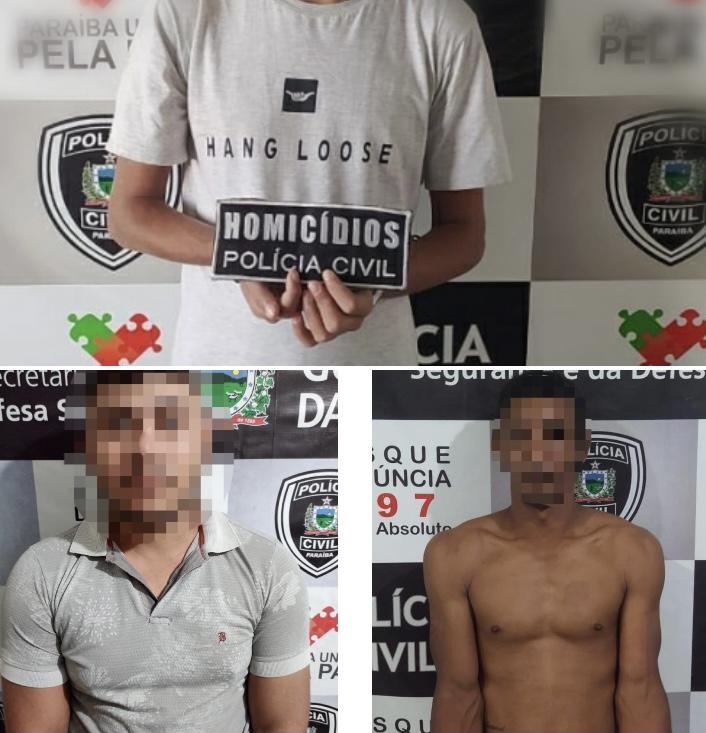POLICIA CIVIL PRENDE RESTANTE DA QUADRILHA QUE COMETEU CHACINA EM CATOLE DO ROCHA ANO PASSADO E INÚMEROS HOMICÍDIOS NA REGIÃO.