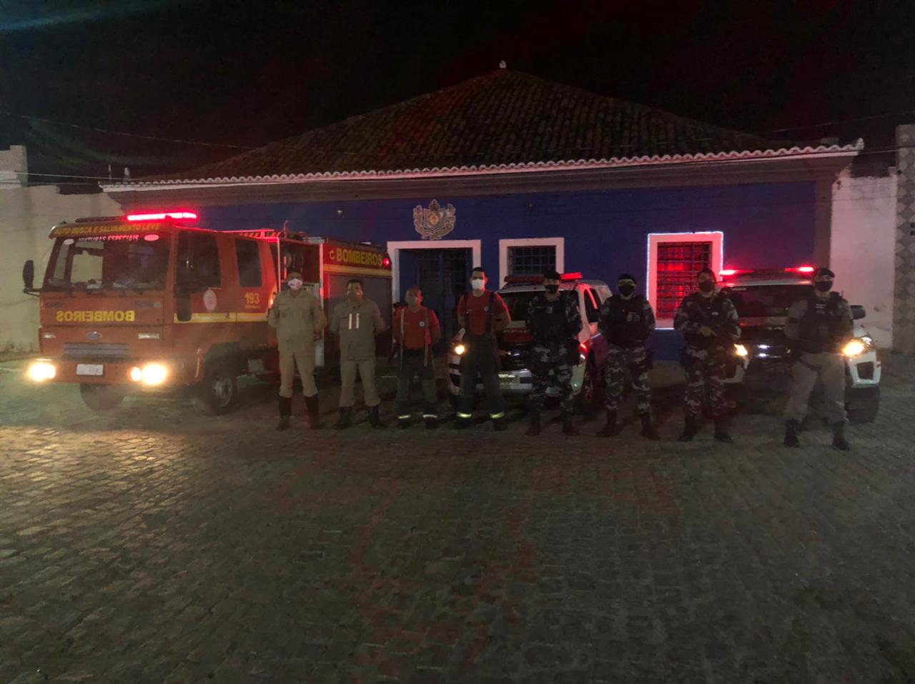 OPERAÇÃO NÔMADE  Ocorreu na noite dessa quarta-feira, 23/04, uma ação integrada entre o Corpo de Bombeiros e a Polícia Militar na cidade de Pombal, denominada Operação Nômade