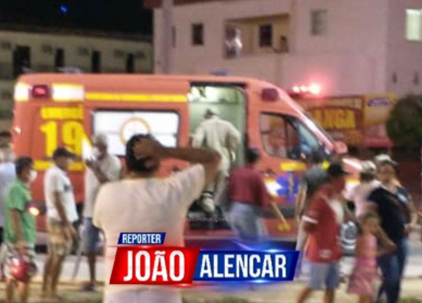 Um acidente automobilístico do tipo queda de moto, foi registrado na noite desta quinta-feira (23) na Rodovia BR-427, saída de Pombal no sentido a Paulista , resultando em uma vítima.
