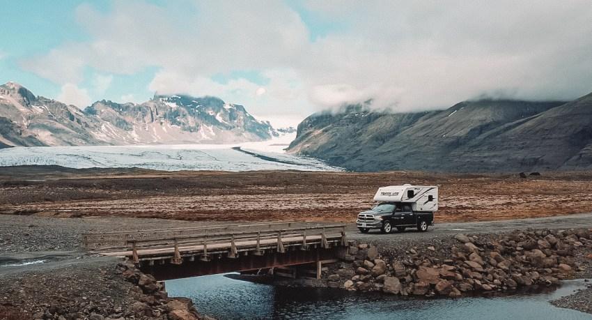Islândia de Campervan