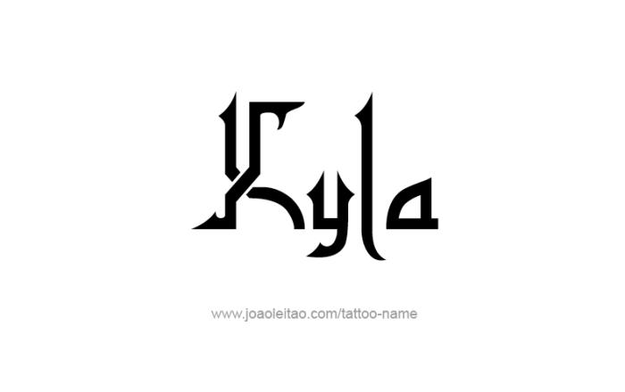 Tattoo Design Name Kyla