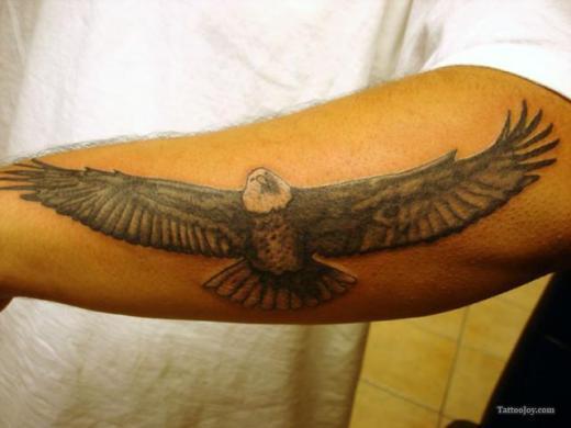 Eagle arm tattoo designs for men