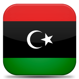 Bandeira Libia