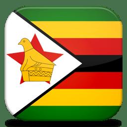 Bandeira Zimbabwe