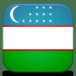 Bandeira Uzbequistao