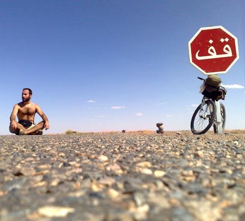 Joao Leitao in Sahara Desert south east Morocco