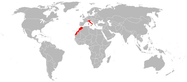 Mapa de Viagens em 2010
