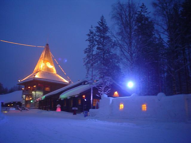 Napapiiri Aldeia do Pai Natal Finlândia