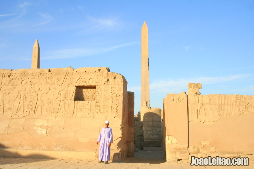 Obelisco do Templo de Karnak