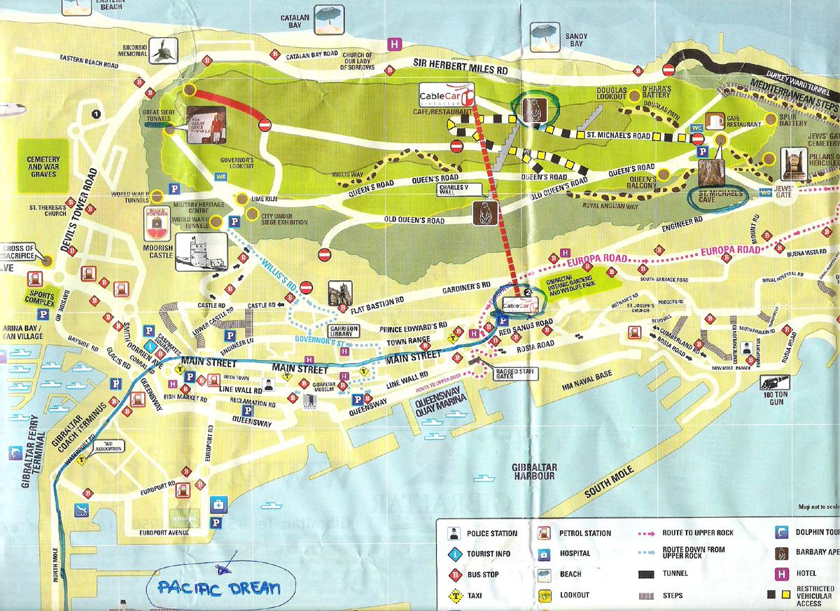 Centro da Cidade de Gibraltar