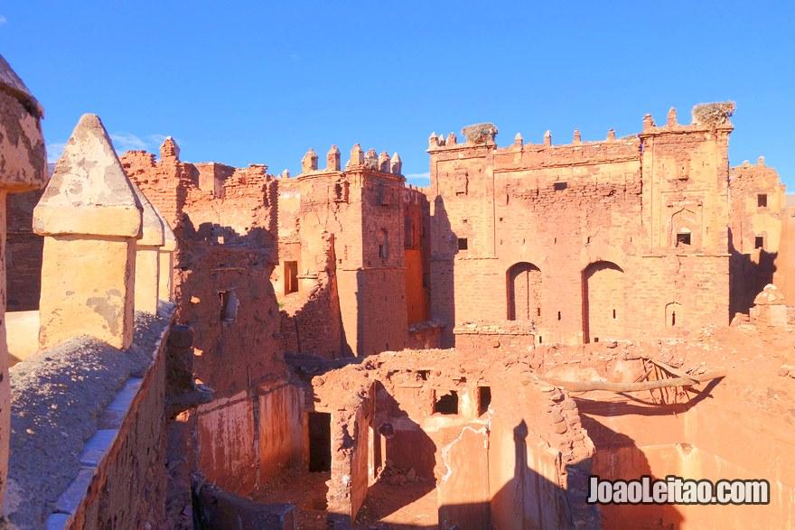 Casbá de Telouet na região de Ouarzazate