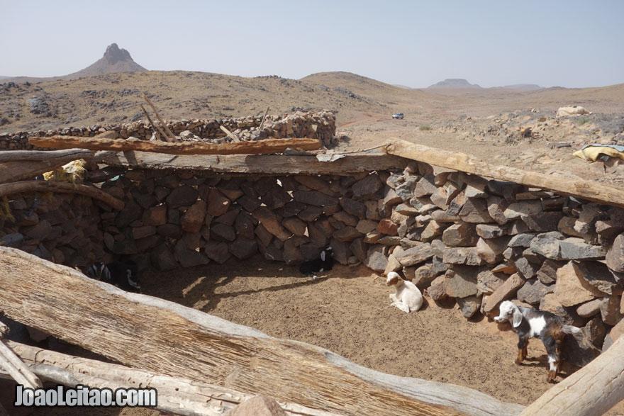 Currais Azib N Oudad na região de Ouarzazate