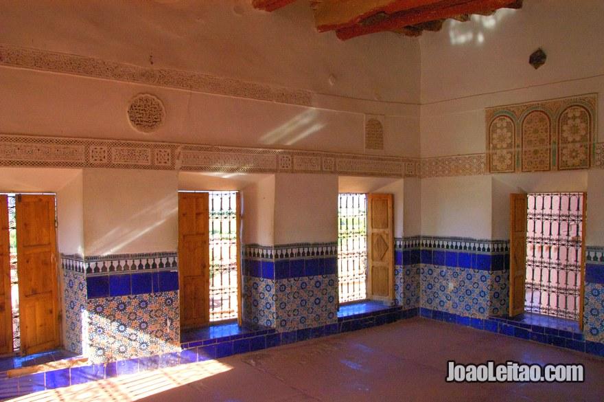 Interior do Casbá Taourirt
