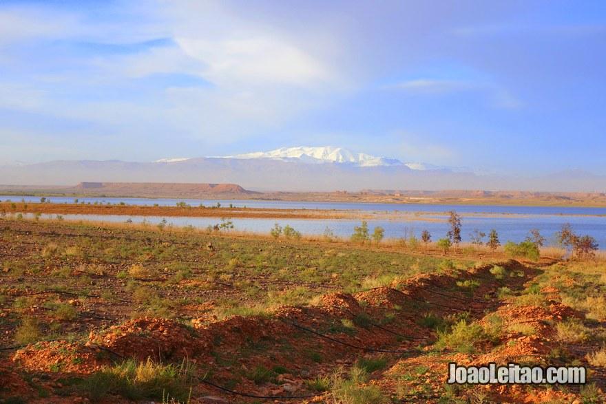 Barragem Al-Mansour Ad-Dahb em Ouarzazate