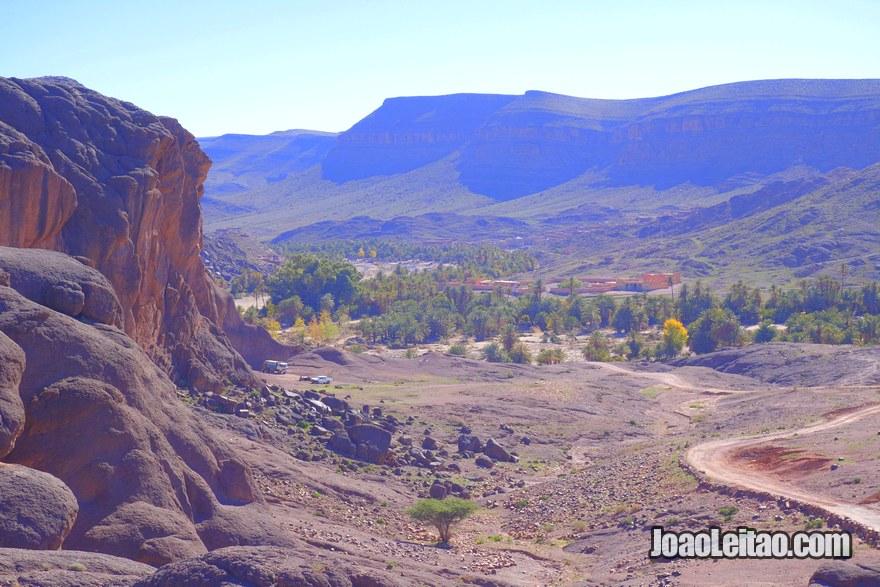 Oasis de Fint em Ouarzazate