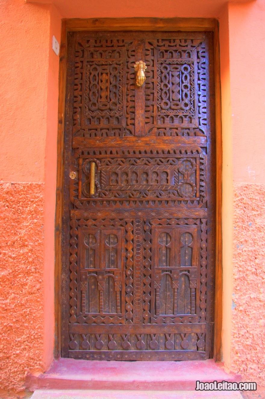 Porta marroquina em Tassoumaat